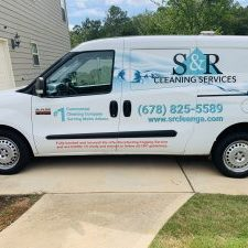 Providing commercial cleaning to Hampton Georgia in our van